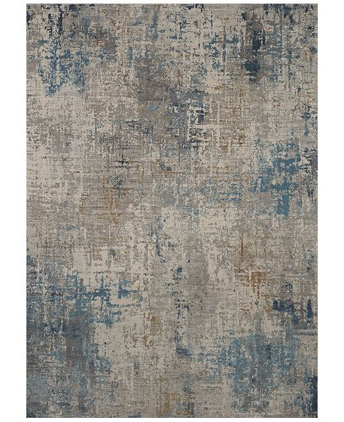 Karastan Tryst Marseille Blue Area Rug Collection