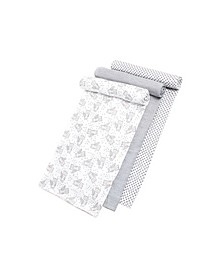 Gertex Dream Baby Boys and Girls Swaddle 3 Pack in Giftbox