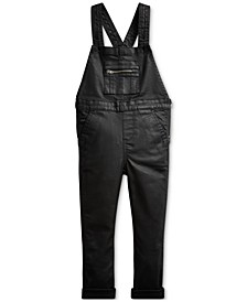 Little Girls Stretch Cotton Denim Overall