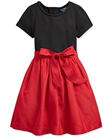 Toddler Girls Stretch Interlock Dress