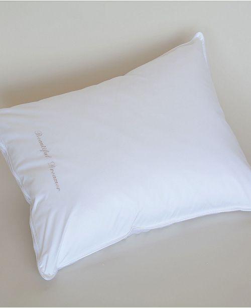 The Pillow Bar Down Alternative King Side Sleeper Pillow