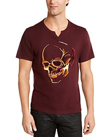 INC Men's Ramona Skull Graphic T-Shirt, Created For Macy's