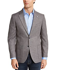 Men's Modern-Fit Active Stretch Solid Sport Coat