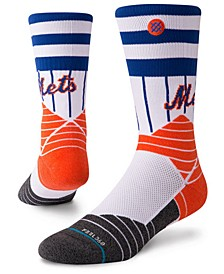New York Mets Diamond Pro Authentic Crew Socks