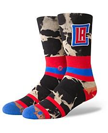 Los Angeles Clippers Acid Wash Crew Socks