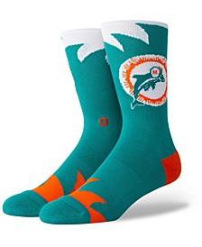 Miami Dolphins Shark Tooth Socks