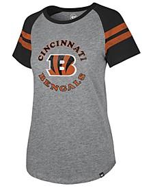 Women's Cincinnati Bengals Flyout Raglan T-Shirt