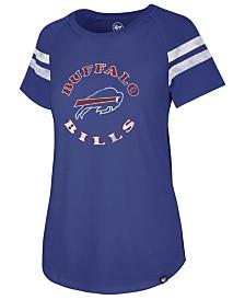 '47 Brand Women's Buffalo Bills Flyout Raglan T-Shirt