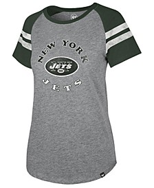 Women's New York Jets Flyout Raglan T-Shirt