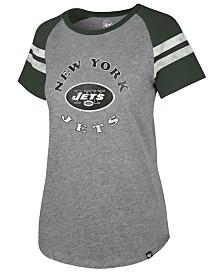 '47 Brand Women's New York Jets Flyout Raglan T-Shirt