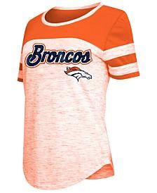 5th & Ocean Women's Denver Broncos Space Dye T-Shirt