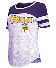 Women's Minnesota Vikings Space Dye T-Shirt