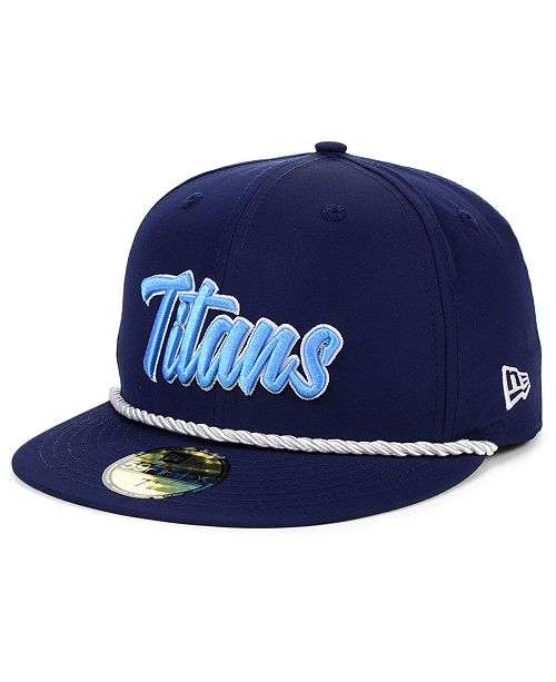 New Era Tennessee Titans On-Field Sideline Home 59FIFTY Fitted Cap