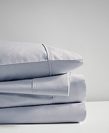 600 Thread Count King 4 Piece Cooling Cotton Sheet Set