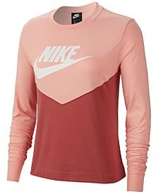 Women's Sportswear Cotton Clorblocked Top