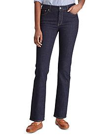 Lauren Ralph Lauren Super Stretch Premier Straight Jeans, Regular and Short Lengths