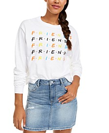 Juniors' Friends Long-Sleeved Graphic T-Shirt