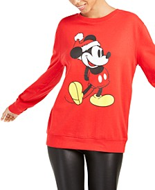 Juniors' Mickey Mouse Christmas Sweatshirt