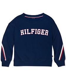 Tommy Hilfiger Big Girls Fleece Sweatshirt