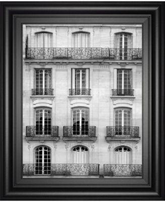 "Across The Street I by Laura Marshall Framed Print Wall Art - 22"" x 26"""