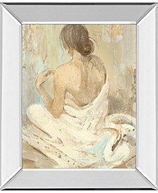 "Abstract Figure Study 2 by Albena Hristova Mirror Framed Print Wall Art - 22"" x 26"""