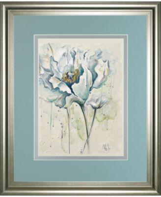 "Fresh Poppies I by Patricia Pinto Framed Print Wall Art - 34"" x 40"""