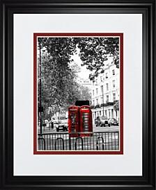 "Telephone by Emily Navas Framed Print Wall Art - 34"" x 40"""