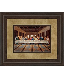 "Last Supper Framed Print Wall Art - 34"" x 40"""