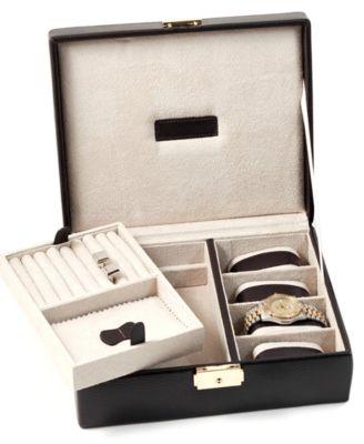 Bey-Berk Leather Valet Box  sc 1 st  Macyu0027s & Bey-Berk Leather Valet Box - Jewelry Boxes u0026 Accessories - Jewelry ... Aboutintivar.Com