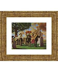 """Funeral Framed Print Wall Art - 22"""" x 26"""""""