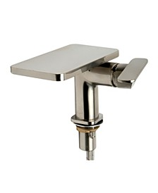 Brushed Nickel Single-Lever Bathroom Faucet