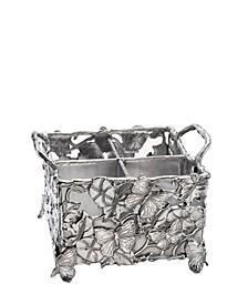 Designs Aluminum Butterfly Flatware Caddy