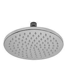 "Polished Chrome 8"" Round Multi Color LED Rain Shower Head"