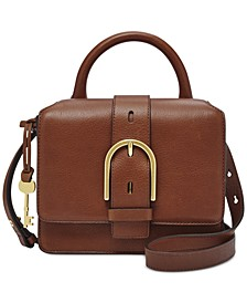 Wiley Top Handle Leather Satchel