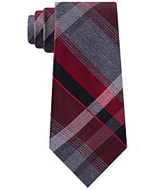 Men's Plazza Slim Plaid Tie