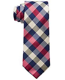 Big Boys Classic Buffalo Multi-Check Silk Tie