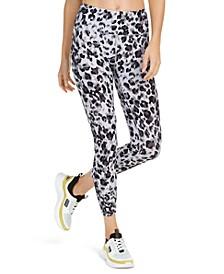 Leopard Print High-Waist Leggings
