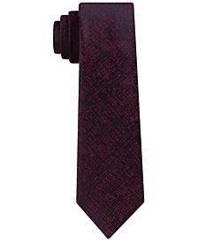 Men's Digital Dot Slim Abstract Tie