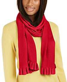 Cashmere Ruffle Muffler Scarf, Created For Macy's