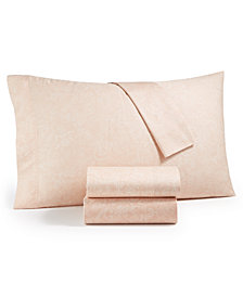 Lucky Brand Basanti 235-Thread Count 4-Pc. Sheet Sets, Created for Macy's