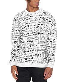 Men's Logo Graphic Sweater