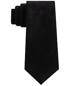 Men's Classic Solid Velvet Tie