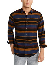 Men's Fay Stripe Flannel Shirt