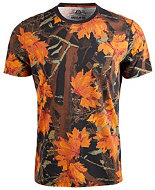 Men's Woodland Camo Graphic T-Shirt, Created For Macy's