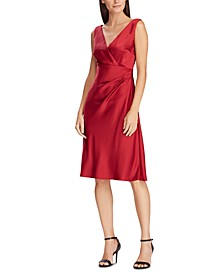 Satin Cocktail Dress, Created For Macy's
