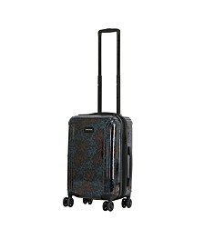 """Triforce Lumina 22"""" Carry On Iridescent Floral Print Luggage"""