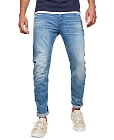Men's Arc 3D Slim-Fit Jeans, Created For Macy's