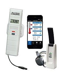 La Crosse Alerts 926-25101-WGB Wireless Monitor System Set with Dry Probe