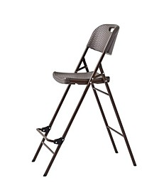 Folding Plastic Bar Chair