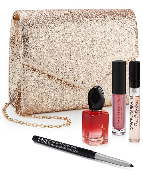 Created For Macy's 5-Pc. Glam Essentials Gift Set, Created For Macy's